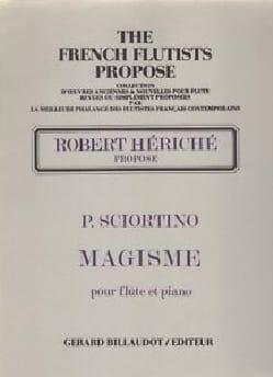 Patrice Sciortino - Magisme - Partition - di-arezzo.fr