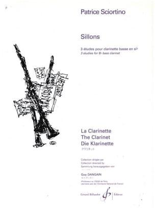 Patrice Sciortino - Sillons - Partition - di-arezzo.fr