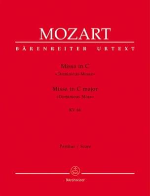 Missa in C-Dur (Dominicus Messe) KV 66 – Partitur - laflutedepan.com