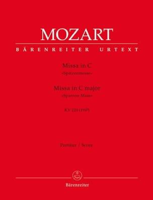 MOZART - Missa C-Dur Spatzenmesse KV 220 - Partitur - Partition - di-arezzo.fr