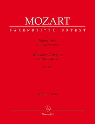 Wolfgang Amadeus Mozart - Missa in C-Dur KV 167 (Trinitatis) – Partitur - Partition - di-arezzo.fr