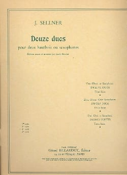 Joseph Sellner - 12 Duos - 3rd Suite - Sheet Music - di-arezzo.co.uk