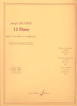 Joseph Sellner - 12 Duos – 2ème Suite - Partition - di-arezzo.fr