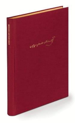 Wolfgang Amadeus Mozart - Quartette und Quintette mit Glasharmonika und Klavier –Partitur + Stimmen - Partition - di-arezzo.fr
