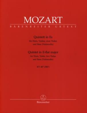 MOZART - Quintett KV 407 - Horn Violine 2 Violen Bass - Sheet Music - di-arezzo.com