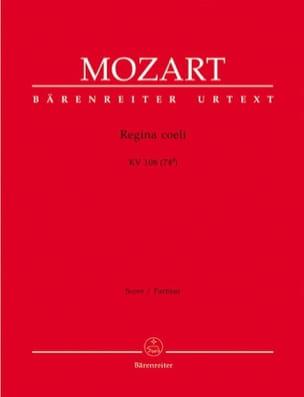 Wolfgang Amadeus Mozart - Regina Coeli KV 108 (74d) – Partitur - Partition - di-arezzo.fr