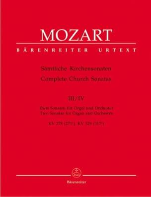 Kirchensonaten KV 278, KV 329 – Partitur - laflutedepan.com