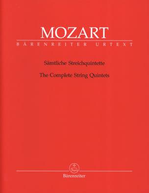Intégrale des quintettes à cordes - MOZART - laflutedepan.com