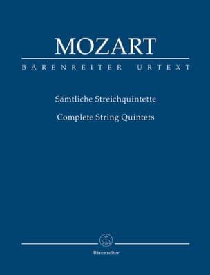 MOZART - Intégrale des quintettes à cordes Urtext der Neuen Mozart-Ausgabe - Partition - di-arezzo.fr