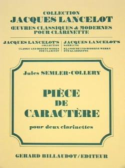 Jules Semler-Collery - Pièce de Caractère - Partition - di-arezzo.fr