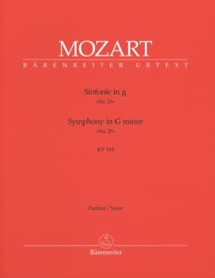 MOZART - Symphony Nr. 25 g-moll KV 183 - Partitur - Sheet Music - di-arezzo.co.uk