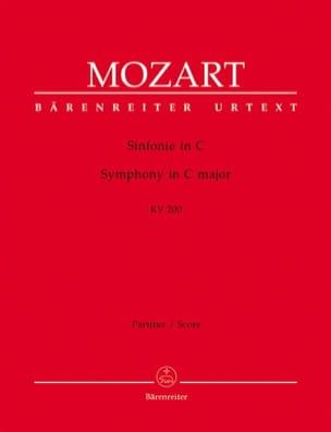 Wolfgang Amadeus Mozart - Symphonie Nr. 28 C-Dur KV 200 – Partitur - Partition - di-arezzo.fr