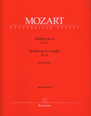 Wolfgang Amadeus Mozart - Symphonie Nr. 29 A-Dur KV 201 – Partitur - Partition - di-arezzo.fr