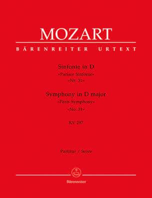 Symphonie Nr. 31 D-Dur KV 297 - Partitur MOZART laflutedepan