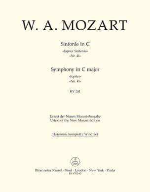 MOZART - Symphonie Nr. 41 C-Dur KV 551 Jupiter - Partition - di-arezzo.fr