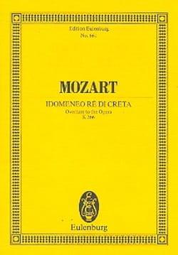 Idomeneo - Ouverture KV 366 - Partitur - MOZART - laflutedepan.com