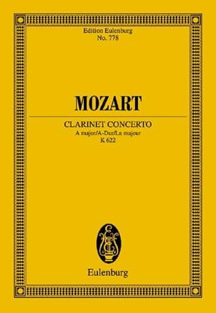 MOZART - Klarinettenkonzert A-Hard KV 622 - Partitur - Sheet Music - di-arezzo.co.uk