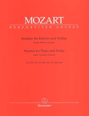 Sonaten - Frühe Wiener Sonaten MOZART Partition Violon - laflutedepan
