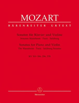MOZART - Sonatas of Mannheim, Paris and Salzburg - Sheet Music - di-arezzo.co.uk