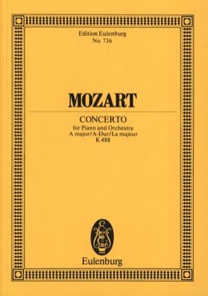 Klavier-Konzert A-Dur KV 488 - Partitur - MOZART - laflutedepan.com