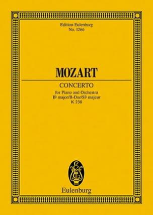 Klavier-Konzert B-Dur KV 238 - Partitur - MOZART - laflutedepan.com