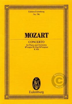 MOZART - Klavierkonzert B-Dur KV 456 - Partitur - Partition - di-arezzo.fr