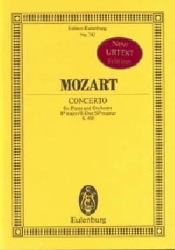 MOZART - Klavier-Konzert B-Dur- Kv 450 - Partition - di-arezzo.fr