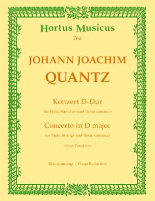 Konzert Pour Potsdam D-Dur – Flöte Klavier - laflutedepan.com