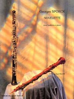 Novelette - Georges Sporck - Partition - Hautbois - laflutedepan.com