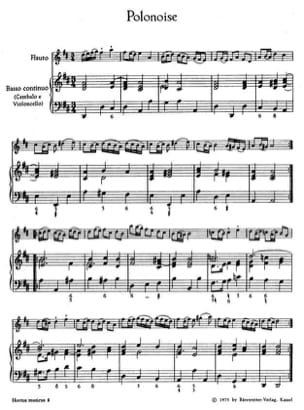 Ricciotti Carlo / Pergolesi Giovanni Battista - Concertino n° 2 G-Dur – Partitur - Partition - di-arezzo.fr