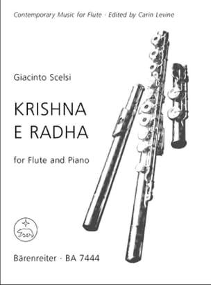 Giacinto Scelsi - Krishna e Radha - Flute piano - Partition - di-arezzo.fr