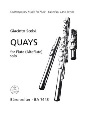 Giacinto Scelsi - Quays - Partition - di-arezzo.fr