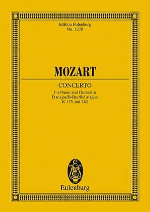Klavier-Konzert D-Dur - Kv 175 /382 - laflutedepan.com