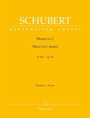 Messe in C-Dur D. 452 - op. 48 - Partitur - laflutedepan.com