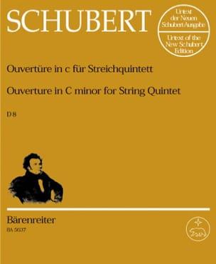 Ouvertüre in c-moll D. 8 für Streichquintett –Stimmen - laflutedepan.com