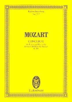 Klavier-Konzert D-Dur - Kv 451 - MOZART - Partition - laflutedepan.com