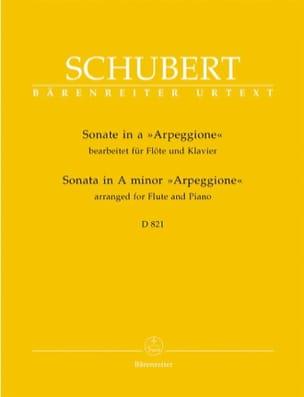 SCHUBERT - Arpeggione Sonata en la menor - Partitura - di-arezzo.es