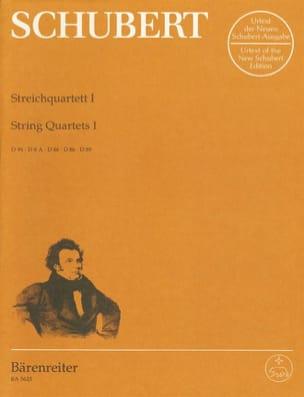 SCHUBERT - Streichquartette -Bd. 1 - Stimmen D. 94, 8a, 46, 86, 89 - Partition - di-arezzo.fr