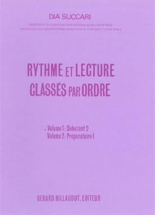 Dia Succari - Rhythm and reading - Volume 1: Deb. 2 - Sheet Music - di-arezzo.co.uk