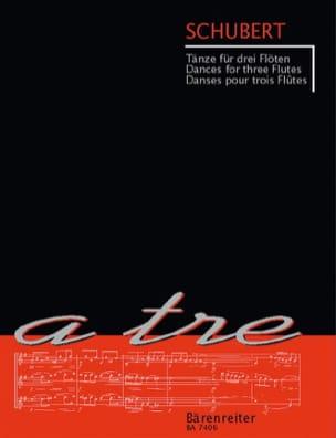 Franz Schubert - Tänze für drei Flöten - Partition - di-arezzo.fr