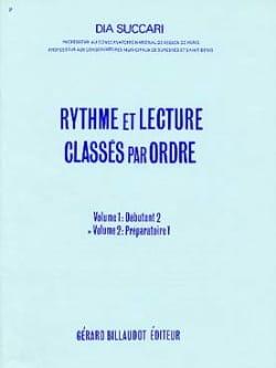Dia Succari - Rhythm and Reading - Volume 2: Prep. 1 - Sheet Music - di-arezzo.com
