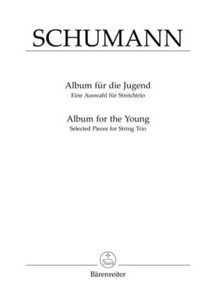 Album für die Jugend. Auswahl SCHUMANN Partition Trios - laflutedepan
