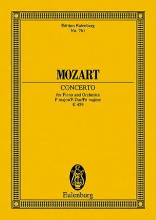 MOZART - Klavierkonzert Nr. 19 F-Dur KV 459 - Partitur - Partition - di-arezzo.fr