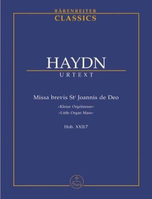 Joseph Haydn - Missa brevis Sti.Joannis de Deo - Kleine Orgelmesse. Urtext der Haydn-Gesamtau - Partition - di-arezzo.fr