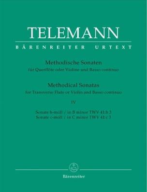 12 Methodische Sonaten - Bd. 4 - Flöte Violine und Bc laflutedepan