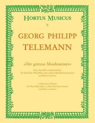 Georg Philipp Telemann - Der getreue Musikmeister – Flöten (Blockflöte) Bc - Partition - di-arezzo.fr
