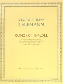 Georg Philipp Telemann - Konzert h-moll –Flöte mit konz. Cemb. / o. Fl. Vln. BC ... - Partition - di-arezzo.fr