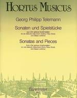 Georg Philipp Telemann - Sonaten und Spielstücke - Partition - di-arezzo.fr