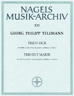 Trio F-Dur - Altblockflöte, Viola da Gamba u. Bc - laflutedepan.com