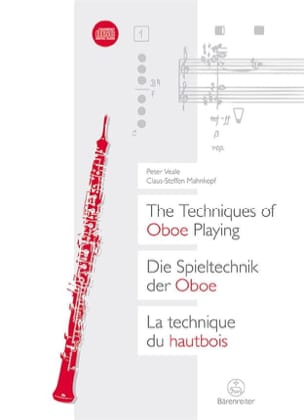 Veale Peter / Mahnkopf Claus-Steffen - The oboe technique - Sheet Music - di-arezzo.co.uk